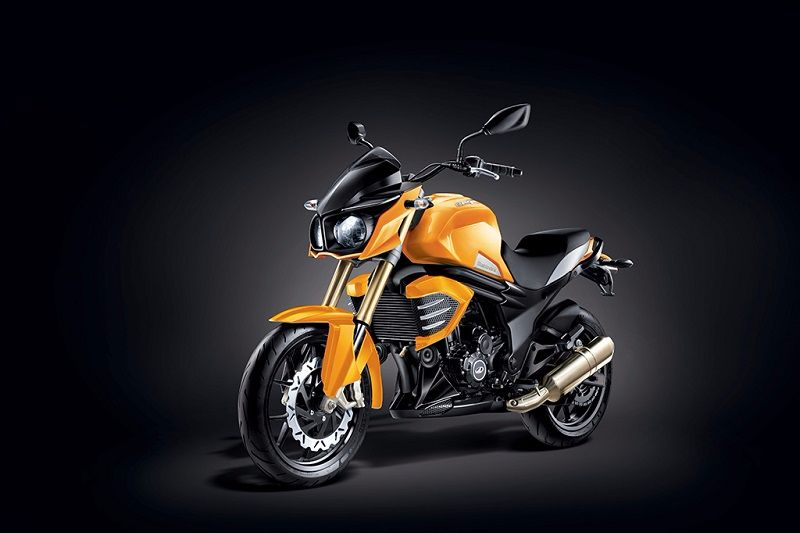 Mahindra Mojo Sunburst Yellow matte edition