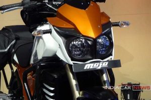 Mahindra Mojo Tourer headlamp