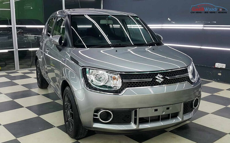 Maruti Ignis Hybrid At Automatic Spied Price Pictures Specs