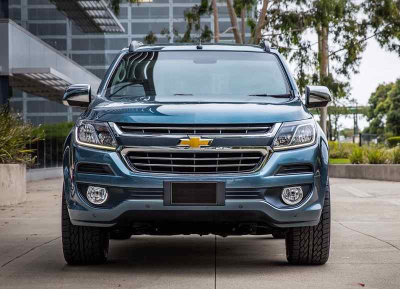 New Chevrolet Trailblazer 2017 facelift front