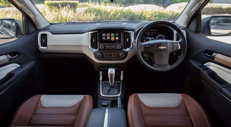 New Chevrolet Trailblazer 2017 facelift interior