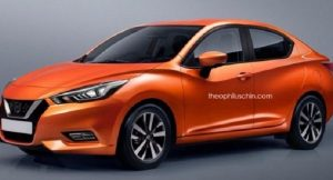 New Nissan Sunny 2018 rendered