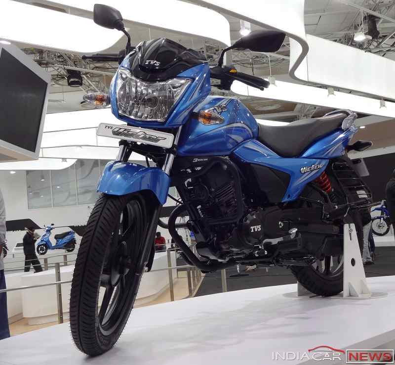 New TVS Victor 2016 front