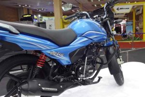 New TVS Victor 2016 side view