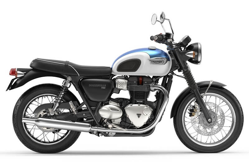 Triumph Bonneville T100 India specs