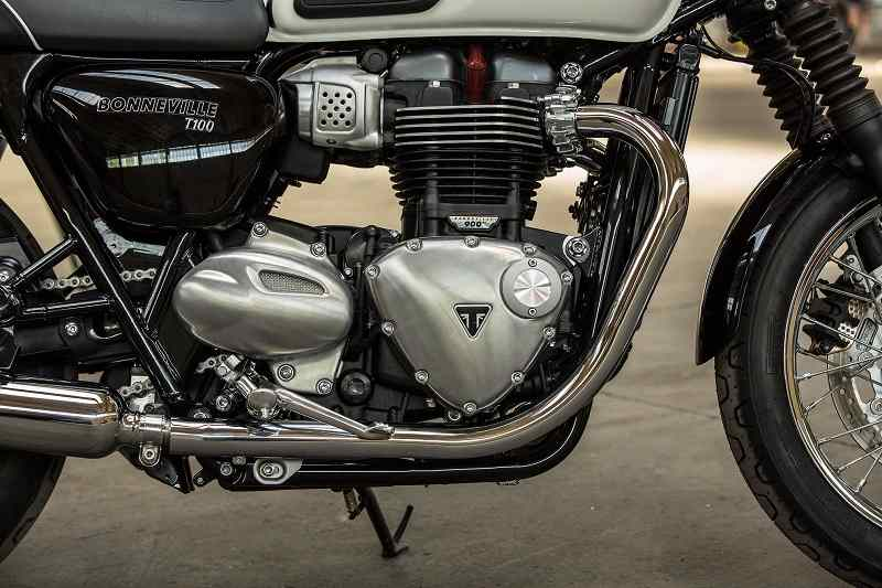 Triumph Bonneville T100 India engine