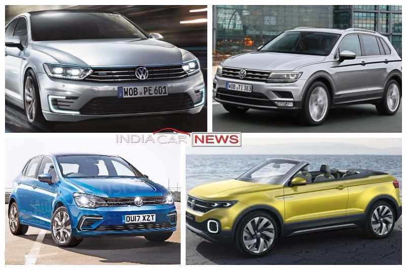 New Upcoming Volkswagen Cars In India In Icn