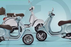 Vespa 70th Anniversary Edition India