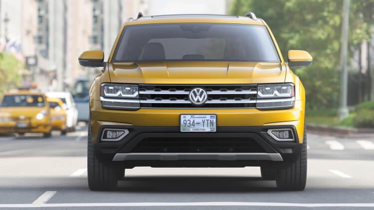 Volkswagen Atlas 7 Seater SUV Front