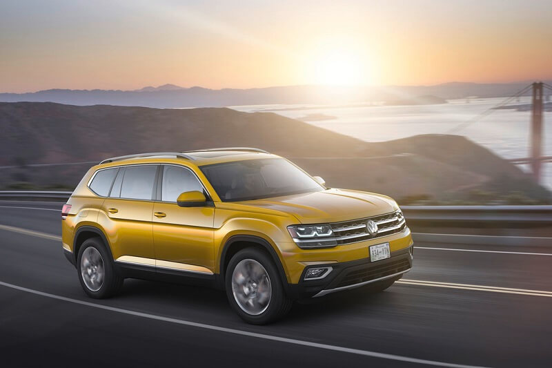 Volkswagen Atlas India