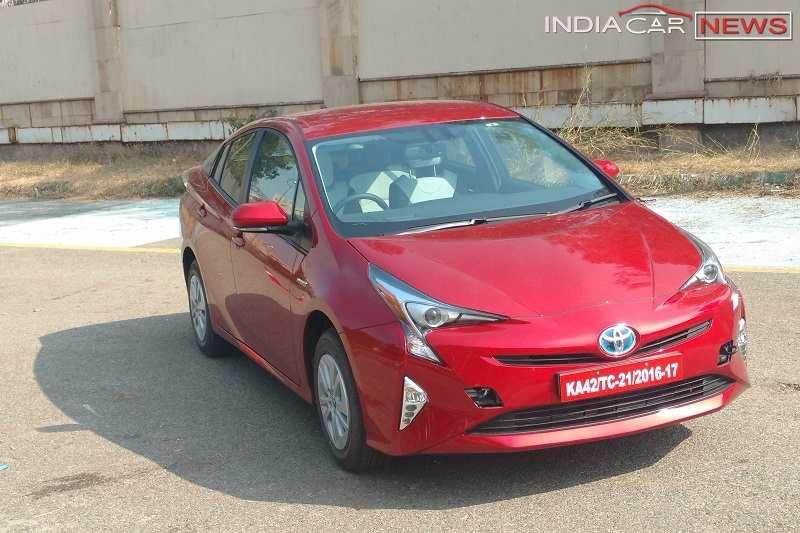 2017 Toyota Prius India