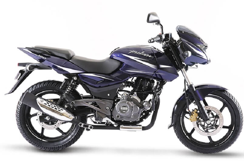 2017 Bajaj Pulsar 180 Facelift Side Profile