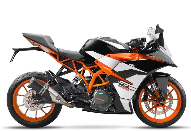 2017 KTM RC 390 Side Profile