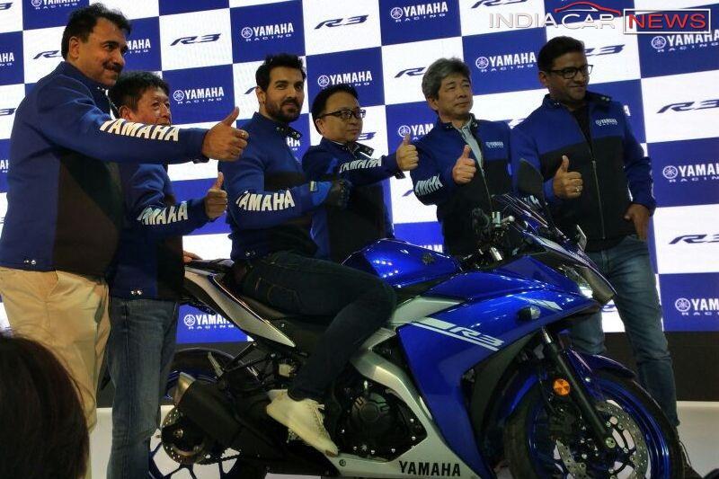 2018 Yamaha R3 Price in India
