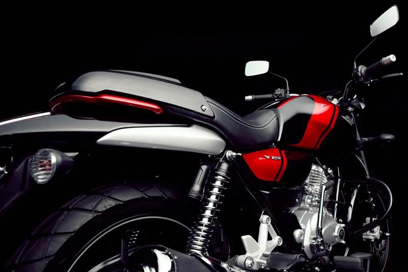 Bajaj V12 125cc V bike