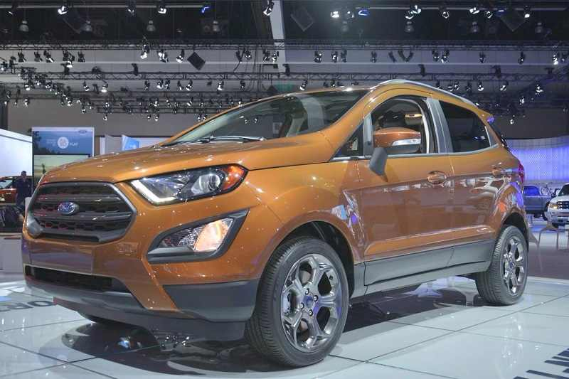 Ford EcoSport 4X4 (AWD) India