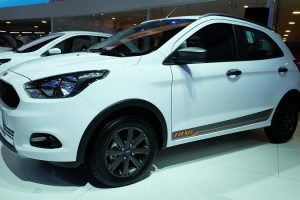 Ford Figo Cross Side Profile