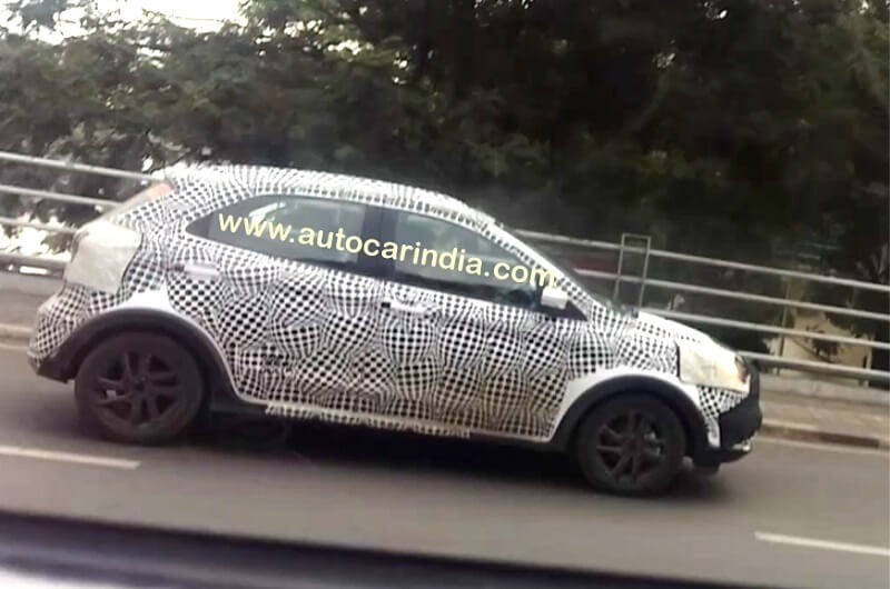 Ford Figo Cross Spied