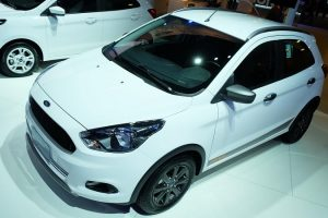 Ford Figo Cross Top View