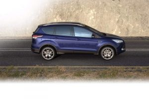 Ford Kuga India Side