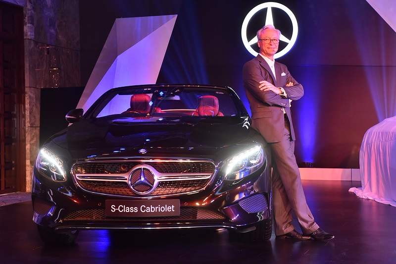 Mercedes S Class Cabriolet India