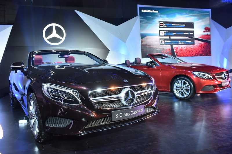 Mercedes C Class Cabriolet, S Class Cabriolet India