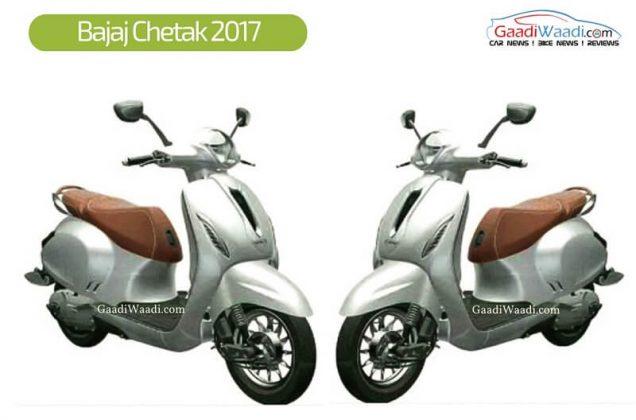 New Bajaj Chetak 2017 scooter model