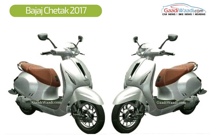 New Bajaj Chetak 2017 scooter model