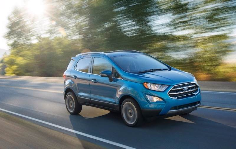 New Ford EcoSport Front Three Quarter