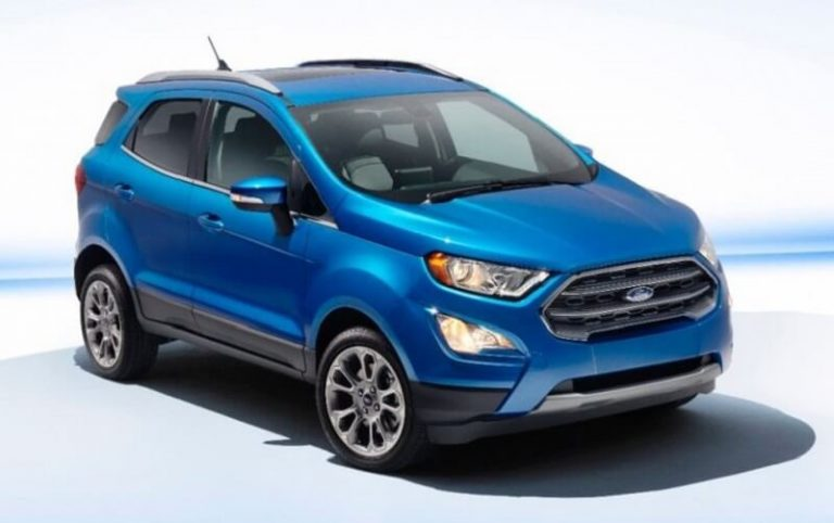 New Ford EcoSport Front
