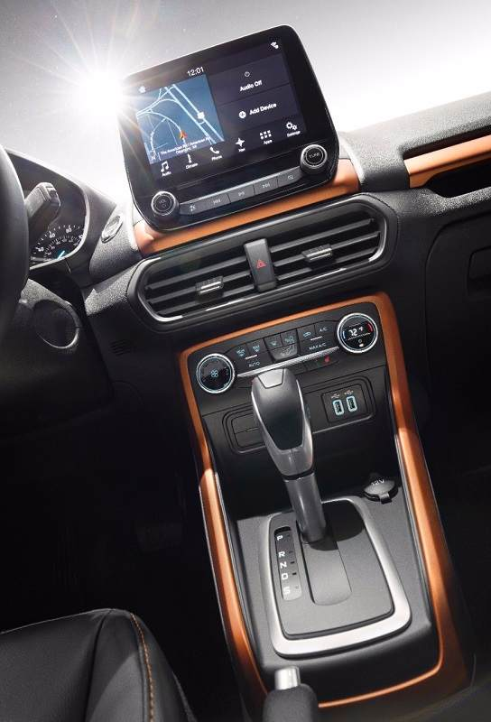 New Ford EcoSport Infotainment System