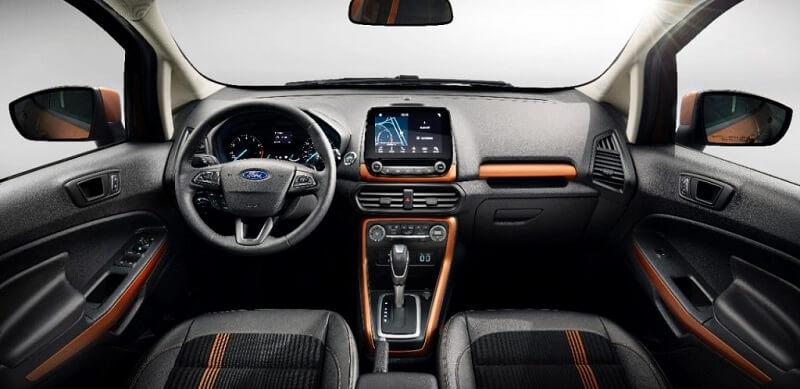 New Ford EcoSport Interior