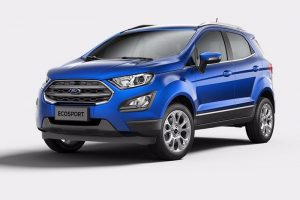 New Ford EcoSport Revealed Front Profile