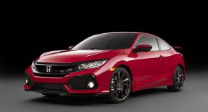 New Honda Civic Si Front Three Quarter