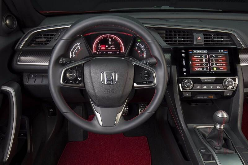 New Honda Civic Si Interior