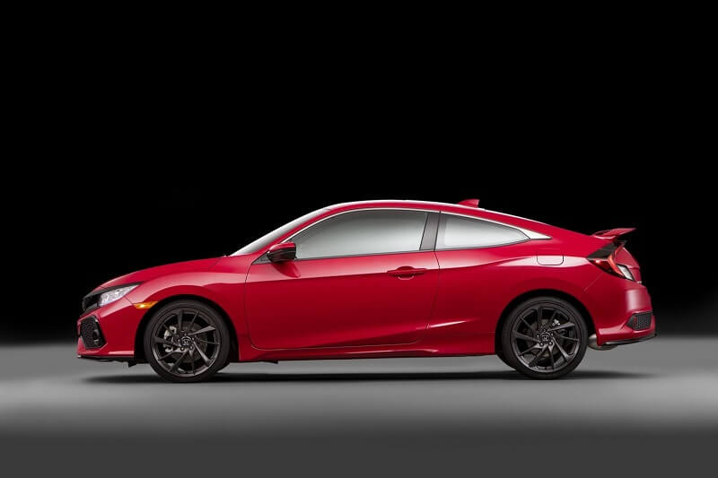 New Honda Civic Si Side Profile