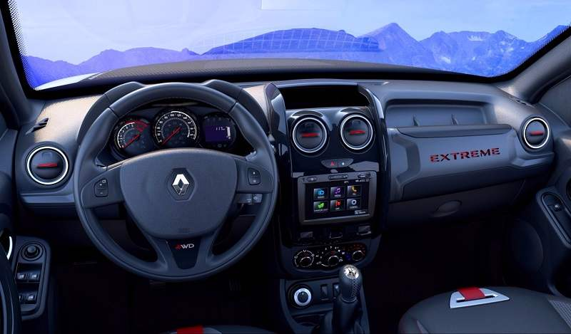 Renault Duster Extreme Concept Interior