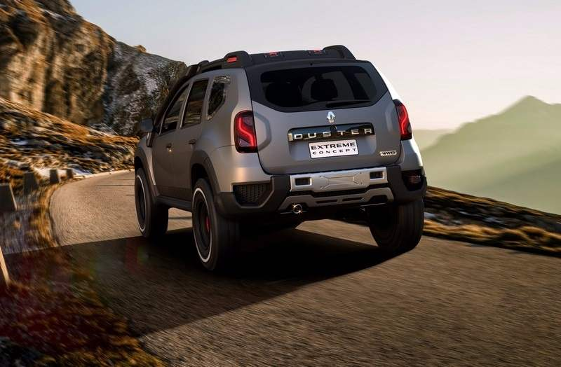 Renault Duster Extreme Concept Moving Shot