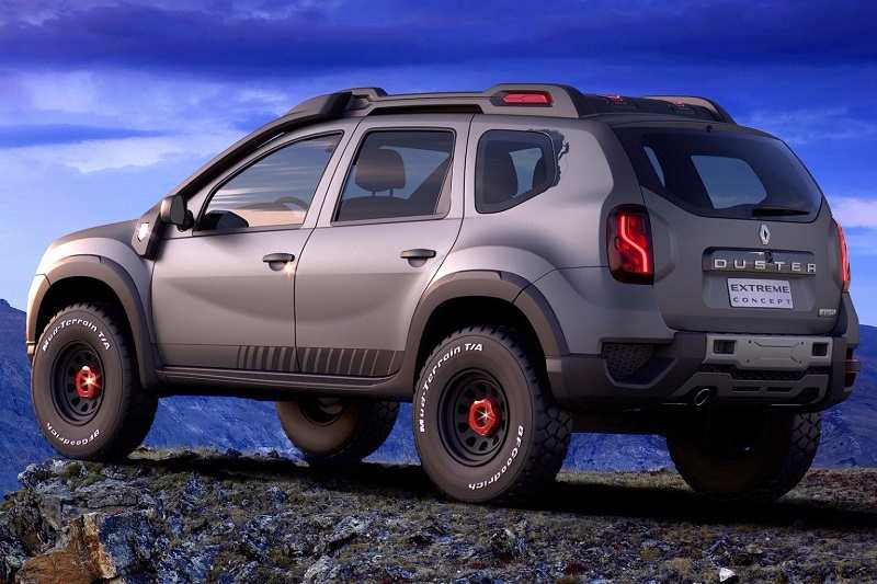 Renault duster extreme edition photo story exterior for Interieur duster 2018