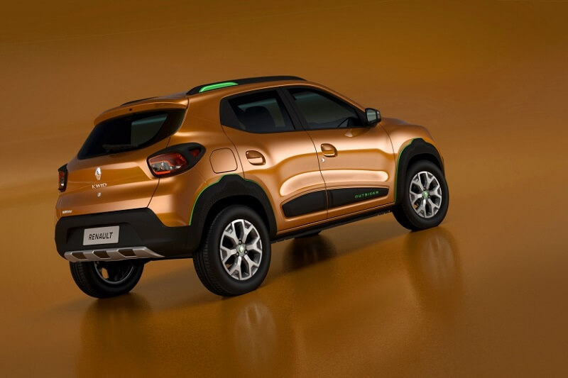 Renault Kwid Outsider Rear