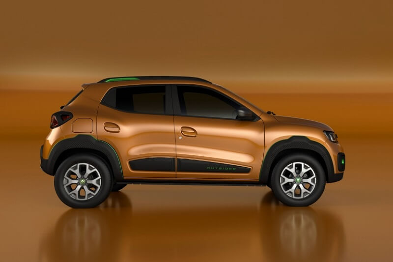 Renault Kwid Outsider Side