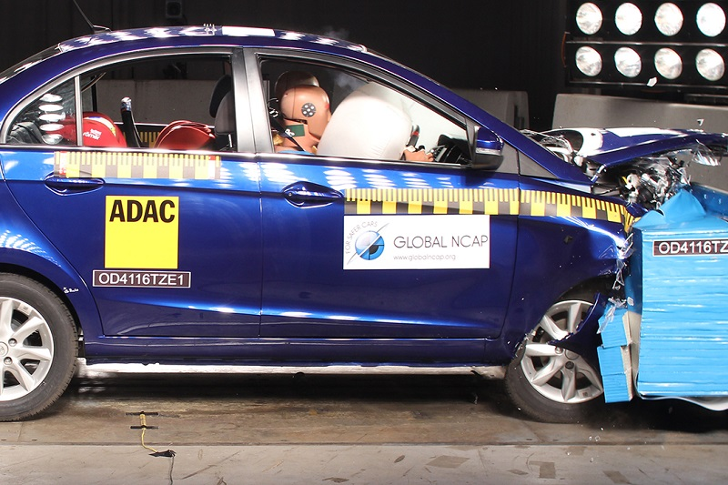 Tata Zest crash test