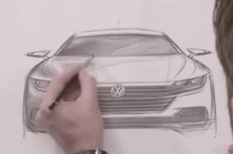 Volkswagen Arteon design sketch