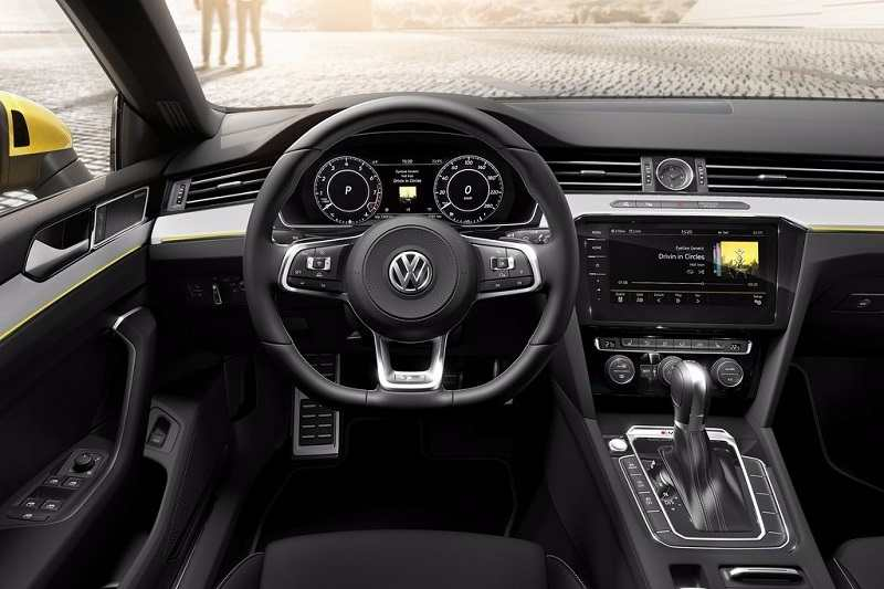 Volkswagen Arteon India interior