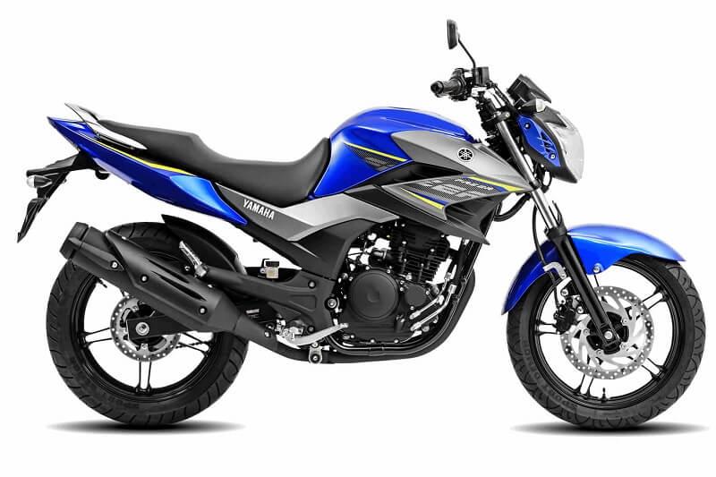 Yamaha FZ 250 (Fazer 250) side