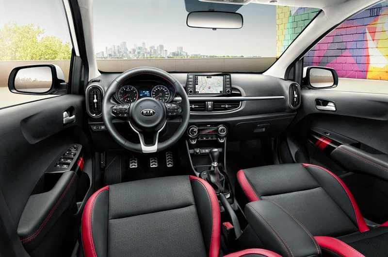 2017 Kia Picanto GT Line interior