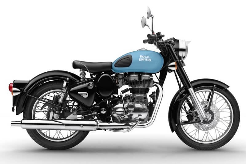 2017 Royal Enfield Classic 350 Redditch Blue