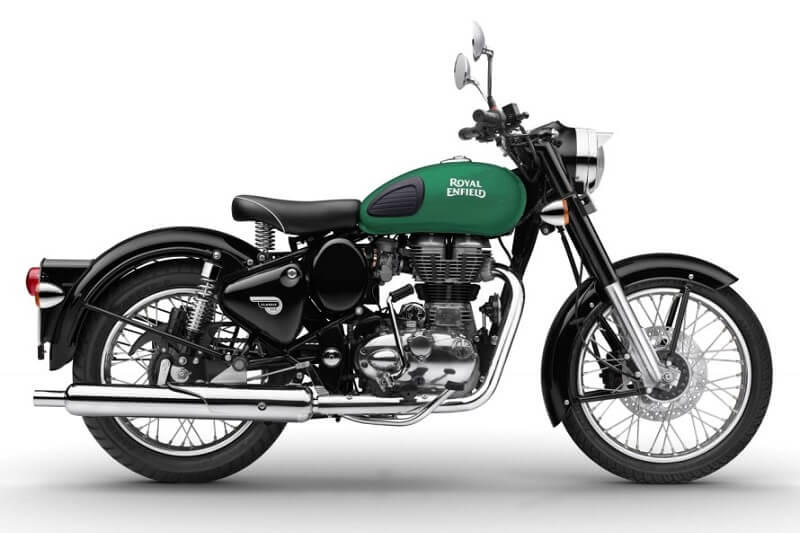 2017 Royal Enfield Classic 350 Redditch Green