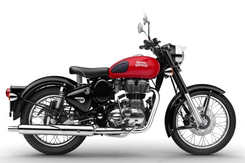 2017 Royal Enfield Classic 350 Redditch Red