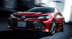 New Toyota Camry 2018 Hybrid India front